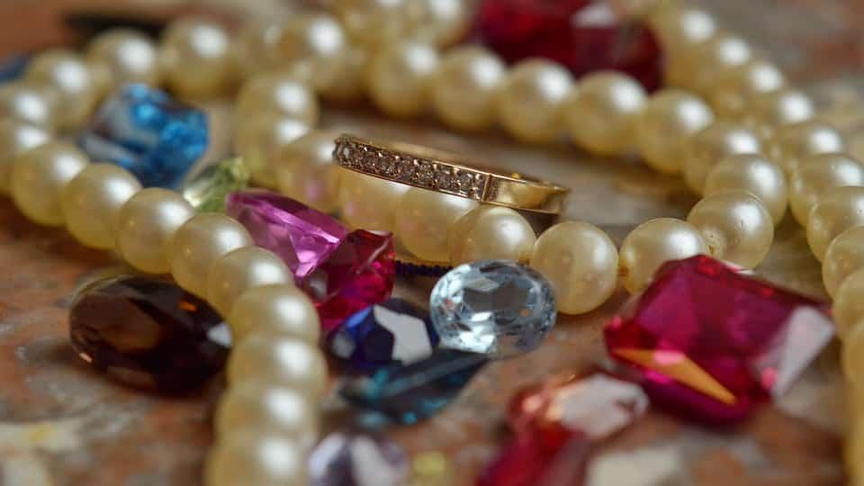 kristály ékszerek
